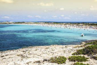 Die 19 Kilometer lange Insel Formentera hat eine Fläche von 82 Quadratkilometern.